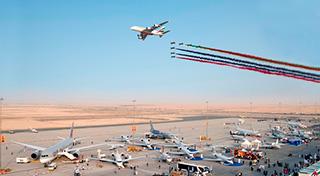авиационный салон Дубай